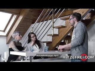 HITZEFREI Anal lesbian fun in front of our friend