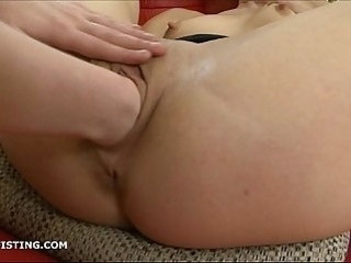 Inga has her pussy fisted by her blonde friend